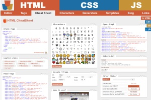 HTML Cheat Sheet 📃 - The best interactive cheat sheet